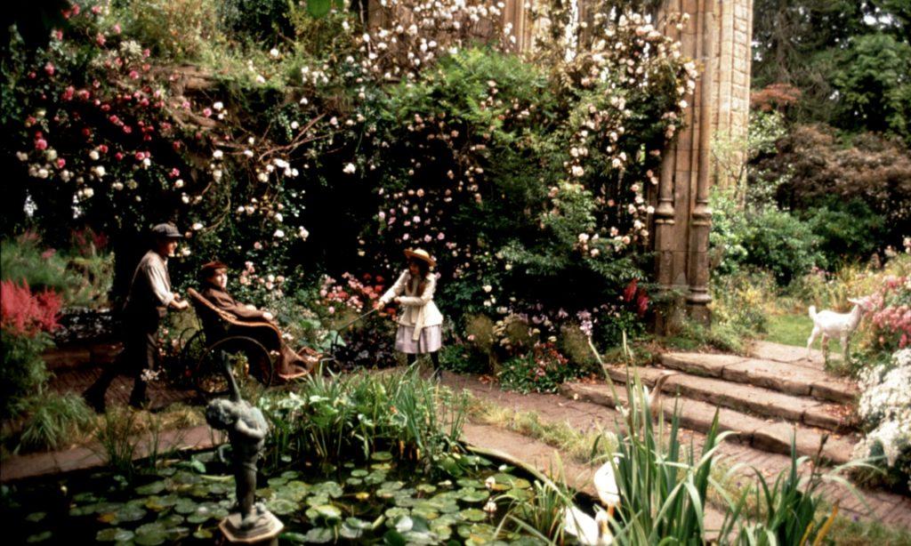 A scene from the film adaptation of Frances Hodgson Burnett's The Secret Garden. Photograph: Sportsphoto/Alamy