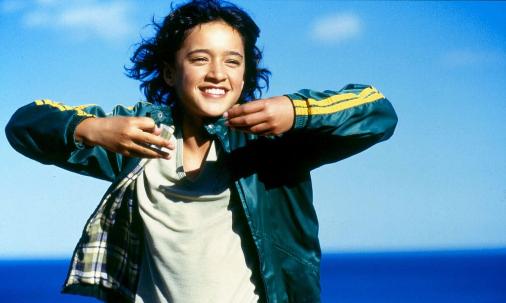 Keisha Castle-Hughes in Whale Rider. Photograph: Sportsphoto/Alamy