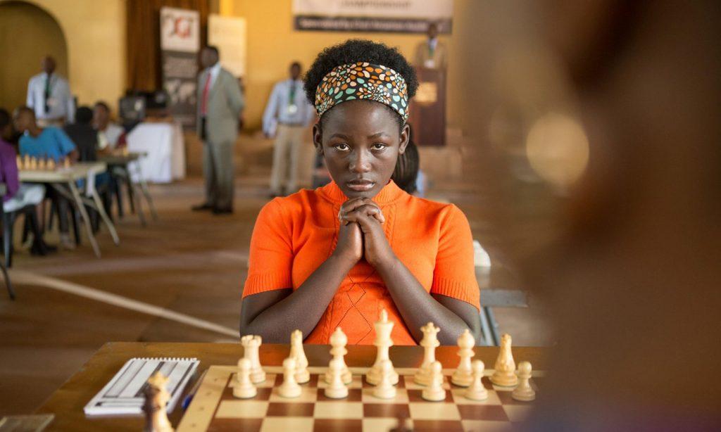 Madina Nalwanga in Mira Nair's Queen of Katwe. Photograph: Moviestore Collection/Alamy