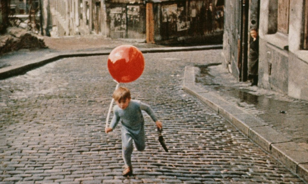 Pascal Lamorisse in The Red Balloon. Photograph: Montsouris/Kobal/Shutterstock