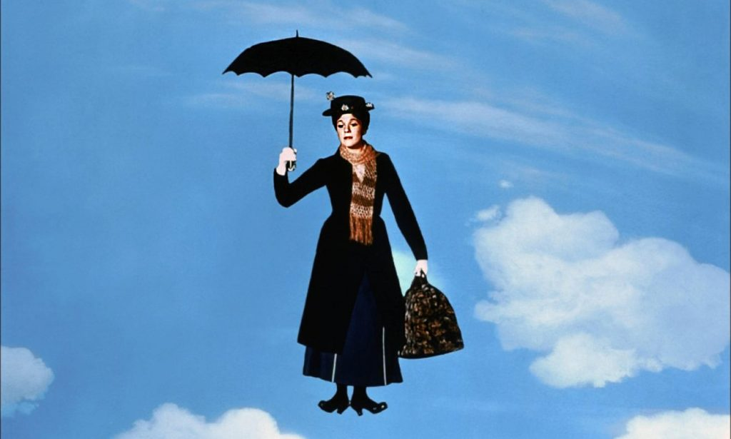 Julie Andrews as Mary Poppins. Photograph: Collection Christophel/Alamy
