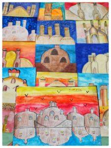 نمونه تاریخ در یک پروژه کلاسی هنر