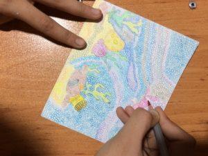 نمونه محیط زیست در یک پروژه کلاسی هنر